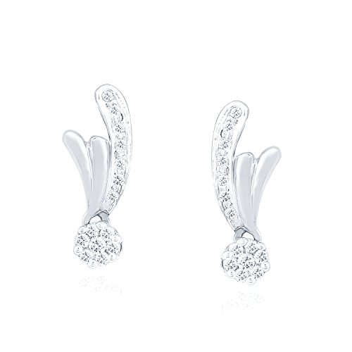 0.167 Ct Diamond Earrings - 9