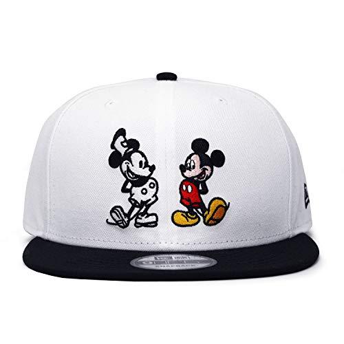 (ニューエラ) ディズニー ミッキーマウス 【90周年 W MICKEY MOUSE 9FIFTY SNAPBACK/WHT-BLK】 NEW ERA DISNEY