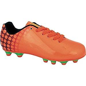 Vizari Men's Palomar FG Soccer Shoe, Orange/Purple, 10 M US