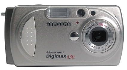 Amazon. Com: samsung digimax 430 4mp digital camera with 3x.