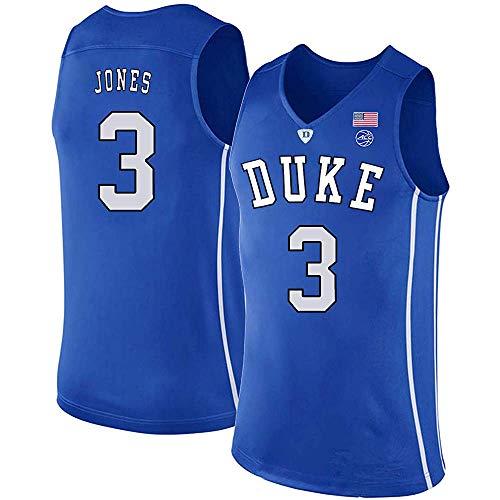Men's/Women's/Youth_TRE_Jones_Duke_Blue_Devils_College_Blue_Jersey
