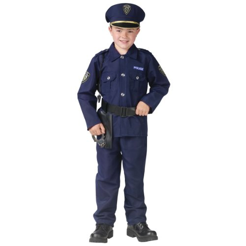 Policeman Kids Costume