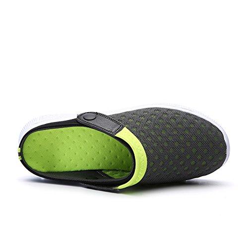 Sandali Sport Slip Verde Scarpe Donna FOBEY Mesh Traspirante Flop Flip Coppie On Uomini wB1E8qxz