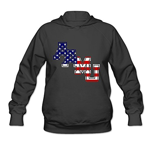 SAMMOI Alabama Agricultural And Mechanical University2 Men's Cool Long Sleeve Hoodie S Black