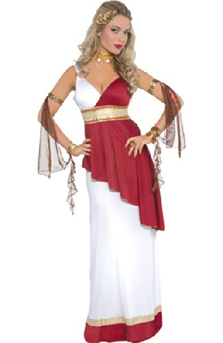 Amscan Adult Imperial Empress Costume - Small (2-4) ()