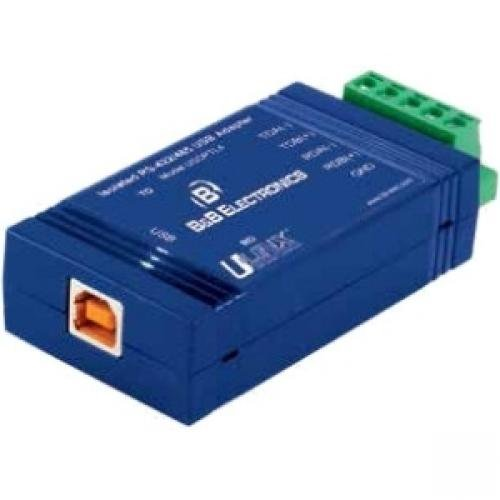 ADVANTECH/B+B SMARTWORX B+B USB/Serial Data Transfer Adapter - 1 x Terminal Block Serial - 1 x Type B Female USB by ADVANTECH/B+B SMARTWORX