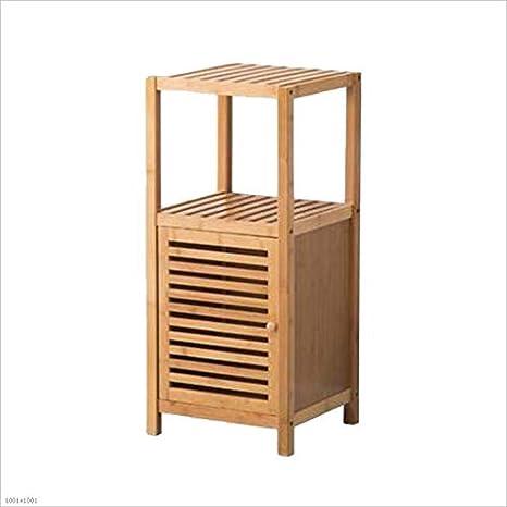 HQQ Lagerregal Multifunktions einfach und modern Floorstanding Bambus Tür Rack (größe : A)