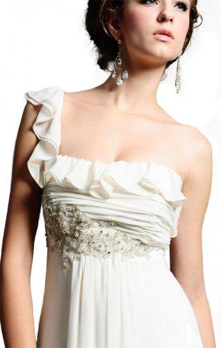 s With Dresses Column Dearta Draped Women Ivory Wedding Sheath Beading 5qxYf4w