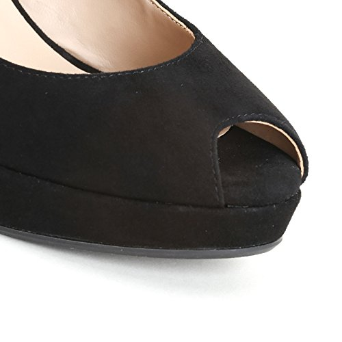 ALESYA by Scarpe&Scarpe - Plataformas sin punta Negro
