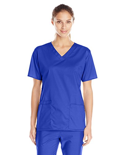WONDERWINK Women's Wonderwork V-Neck Scrub Top, Galaxy for sale  Delivered anywhere in Canada