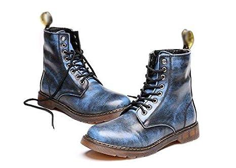 HhGold Zapatillas Martin de Alta Gama de Zapatos de Encaje cómodos de Cuero Suave y Alto, 43 (Color : -, tamaño : -): Amazon.es: Hogar