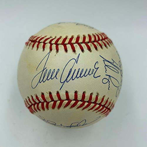 1969 NY Mets World Series Champs Team Signed Baseball Nolan Ryan Tom Seaver - JSA Certified - Autographed Baseballs