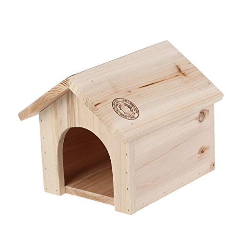 Chinchilla Squirrel Triangle Wooden House Pine Wood Heat-Resistant Bite Pet Supplies Wooden Nest