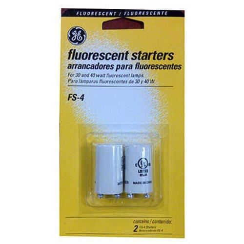 (G E LIGHTING 64819 GE FS-4-C/TP Fluorescent Starter, 2-Pack)