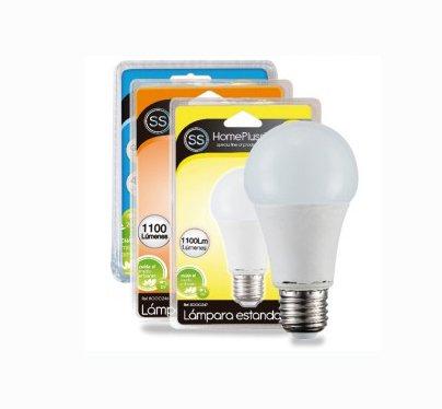 Homepluss - Bombilla LED rosca E27 11W Luz día 4200K