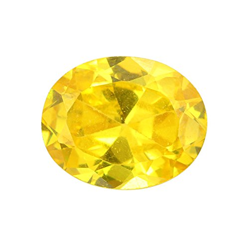 Skyjewels Natural 3.95 Ct Certified Yellow Zircon Loose Gemstone