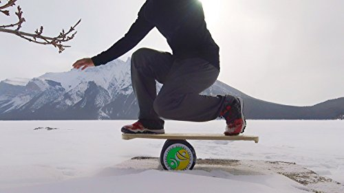 """INDO BOARD Original Balance Board with 6.5"""" Roller and 30"""" X 18"""" Non-Slip Deck – Electric Energy Design by INDO BOARD (Image #8)"""