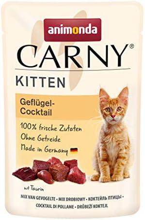 animonda Carny Kitten Katzenfutter, Nassfutter Katzen bis 1 Jahr, verschiedene Sorten, 12 x 85 g