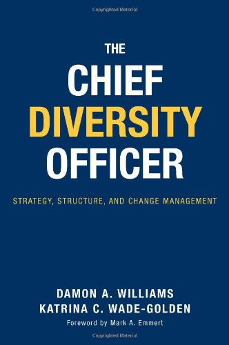 Pdf Social Sciences The Chief Diversity Officer: Strategy Structure, and Change Management