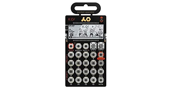 Teenage Engineering PO-33 K.O - Micro sampler: Amazon.es: Instrumentos musicales
