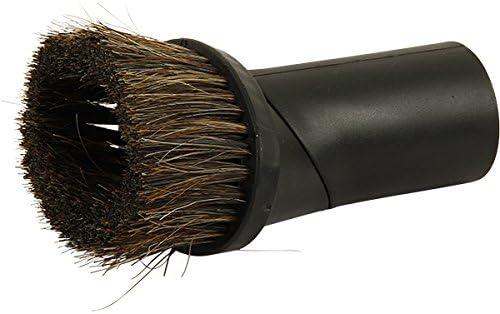 McFilter Lot daccessoires universels pour aspirateur avec brosse /à meubles suceur et adaptateur Raccord de tuyau Noir Diam/ètre 32//35/mm embout tissus 4-teiliges D/üsen-Set noir