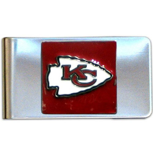 - NFL Kansas City Chiefs Steel Money Clip