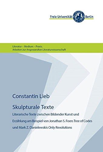 skulpturale texte literarische texte zwischen bildender kunst und erzhlung am beispiel von jonathan s - Erzahlung Beispiel