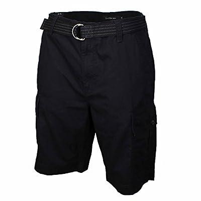 Calvin Klein Jeans Mens Fashion Comfort Utility Cargo Shorts Adjustable Belt