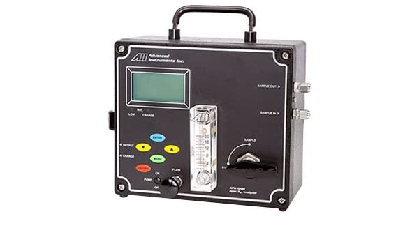 Advanced Instruments GPR-1200 MS Portable PPB Oxygen Analyzer: Amazon.com: Industrial & Scientific
