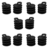 MonkeyJack 10 Pieces Kayak Marine Boat Scupper Stopper Sit on Top Bungs Drain Holes Plugs Small 31mm