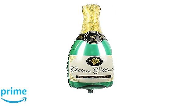 mondial-Fete - Botella de champán ALU Hinchable (50 x 100 cm ...