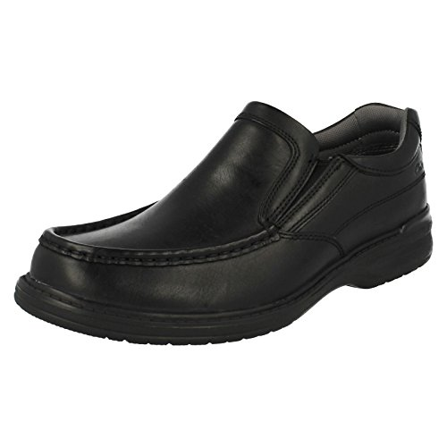 UK Step 7 H Clarks Leather EU 41 Keeler Black TBXqX5
