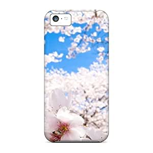 For Iphone Cases, High Quality Sakura Cherry Blossoms For Iphone 5c Covers Cases