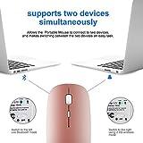 Bluetooth Wireless Mouse, Dual Mode Slim