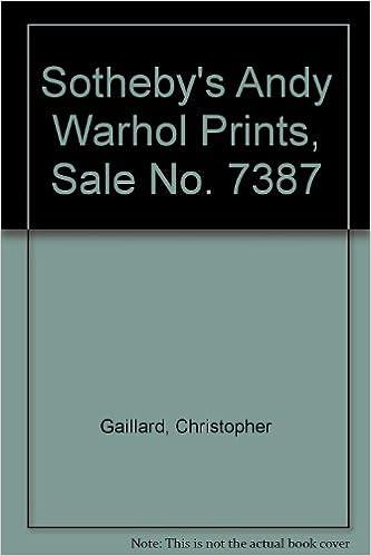 sothebys andy warhol prints sale no 7387