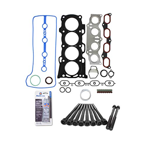 (Head Gasket Set Bolt Kit Fits: 01-06 Toyota Camry Rav4 Scion TC 2.4L DOHC MLS 2AZFE)