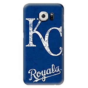 2015 CustomizedS6 Case, MLB - Kansas City Royals - Solid Distressed - Samsung Galaxy S6 Case - High Quality PC Cas