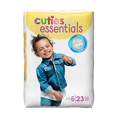 Cuties CR6001 Size 6 Baby Diapers 92/Case