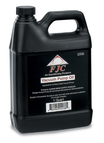 FJC 2200 Vacuum Pump Oil - 1 Quart