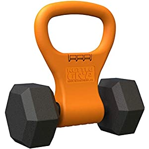 Well-Being-Matters 41CKVsYV8kL._SS300_ Kettle Gryp - Kettlebell Adjustable Portable Weight Grip Travel Workout Equipment Gear for Gym Bag, Crossfit WOD…
