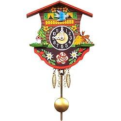 Alexander Taron Home Seasonal Décorative Accessories Engstler Battery-operated Clock - Mini Size - 4.5H x 4.5W x 2D
