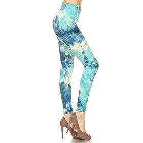 - 41CKVval7LL - Leggings Depot Ultra Soft Regular and Fashion Leggings BAT23