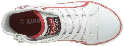 Kaporal Stanis - Zapatillas de Deporte de tela niño Blanco - Blanc (3 Blanc)