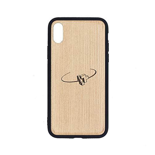 (XCITE - iPhone Xs MAX Case - Maple Premium Slim & Lightweight Traveler Wooden Protective Phone Case - Unique, Stylish & Eco-Friendly - Designed for iPhone Xs MAX )