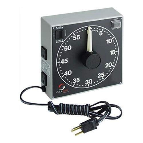 GraLab 300 60-Minute Darkroom Timer, 240V, 50Hz