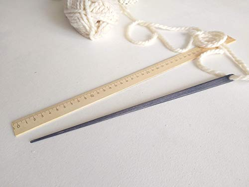 Extra Long Weaving Needle Strong Wooden Needle Weaving Loom Needles Great for all Sizes of Yarn