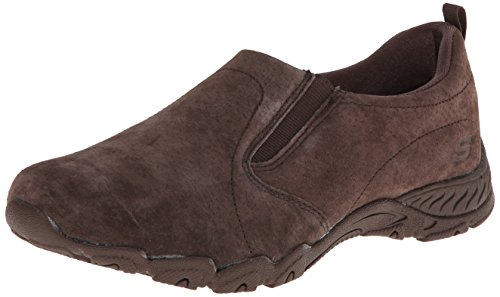 Skechers Women's Endeavor-Atmosphere Fashion Sneaker,Chocolate,7 M US