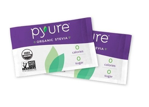 Organic Stevia Sweetener Packets, Sugar Substitute, 40 Count by Pyure (Image #8)