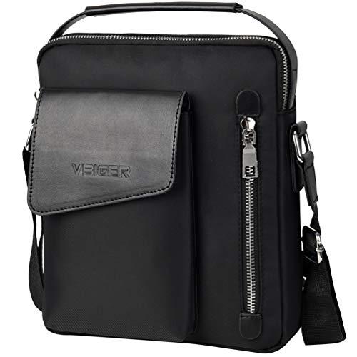 VBG VBIGER Mens Small Messenger Bag Shoulder Purse Bag Business Handbag