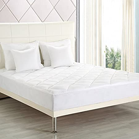 Utopia Bedding Cubrecolchones, Protector de colchón - Blanco 135 x 190 cm: Amazon.es: Hogar